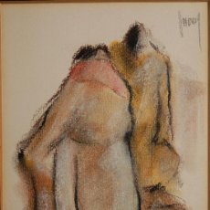 Arte: DIBUJO ORIGINAL FIRMADO . Lote 16716439