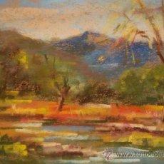 Arte: PRECIOSO PASTEL DE AMAT PELLEJA. Lote 25051309