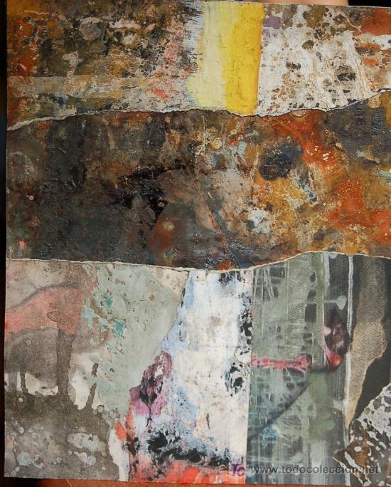 TECNICA MIXTA SOBRE PAPEL (Arte - Dibujos - Contemporáneos siglo XX)