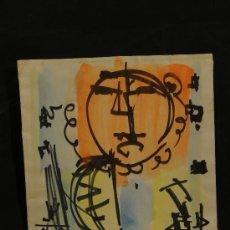Arte: DIBUJO COLOREADO A ROTULADOR Y ACUARELA FIRMADO BOSCH ROGER. Lote 12415334