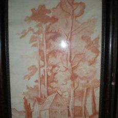 Arte: PAISAJE JUAN SOLE 1958. Lote 26704194