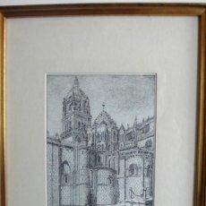 Arte: PRECIOSO DIBUJO PLUMILLA FIRMADO M. MUNICIO Y FECHADO. Lote 27422518