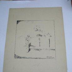 Arte: DIBUJO ORIGINAL A PLUMILLA DEL FAMOSO PINTOR TAURINO ANTONIO CASERO CON FIRMA. 23 X 30 CMS .. Lote 25815441