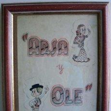 Arte: ARSA Y OLE- DIBUJO. Lote 26634662