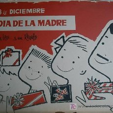 Arte: TÉCNICA MIXTA, PUBLICIDAD ORIGINAL DE EL CORTE INGLÉS. Lote 25515898