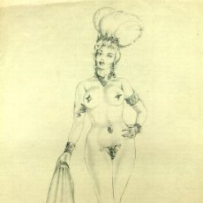 Arte: DESNUDO FEMENINO ANÓNIMO. Lote 26330531