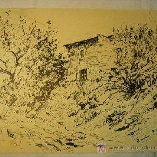 Arte: CASIO BOADA DIBUJO A PLUMILLA DE 1942. Lote 26902613