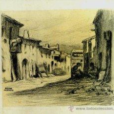 Arte: AA011-SIDRE RIERA MODOLELL. PINTOR Y DIBUJANTE, NACIDO EN BARCELONA EN 1876 Y FALLECIDO EN LA MISMA. Lote 26575163