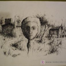 Arte - Tres dibujos de Otero ( Pontevedra) de temas gallegos - 16884938