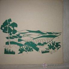 Arte: DIBUJO FIRMADO MIGUEL ARJONA 61. Lote 17222652