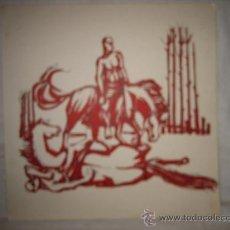 Arte: DIBUJO FIRMADO MIGUEL ARJONA 61. Lote 17222791