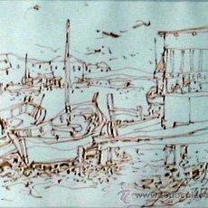 Arte: DIBUJO A TINTA DE MORATO ARAGONES. Lote 25559248