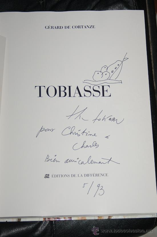 DIBUJO ORIGINAL DE THEO TOBIASSE FIRMADO Y FECHADO (Arte - Dibujos - Contemporáneos siglo XX)