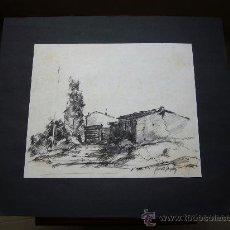 Arte: DIBUJO ORIGINAL DE GERARDO GONZALEZ?. Lote 24420396