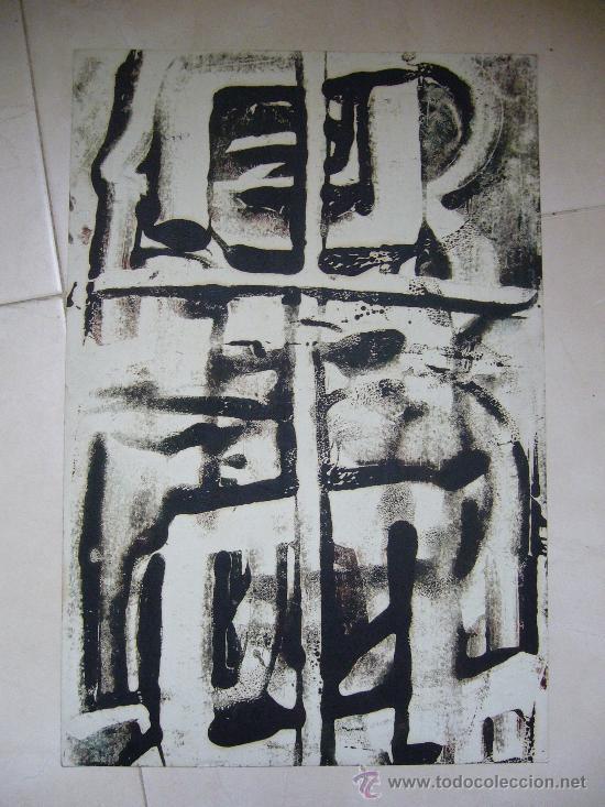 OBRA ATRIBUIDA A PERE PAGES (Arte - Dibujos - Contemporáneos siglo XX)
