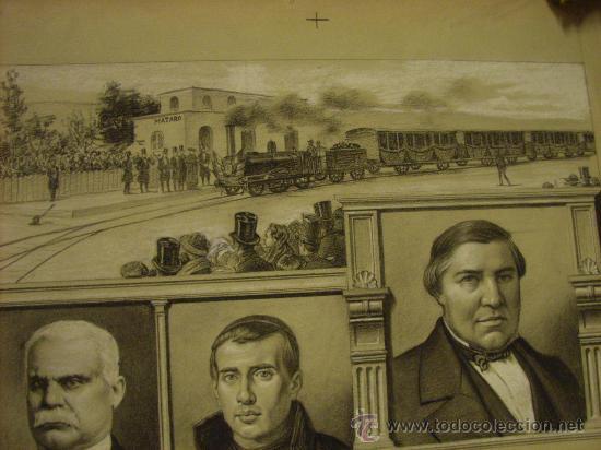 Arte: Dibujo.original de Luis Palao para -La Ilustración Española y Americana. Año 1903. - Foto 2 - 19582629