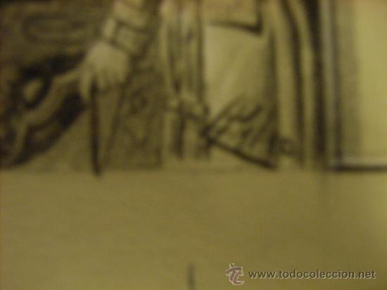 Arte: Dibujo.original de Luis Palao para -La Ilustración Española y Americana. Año 1903. - Foto 4 - 19582629