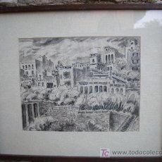 Arte: DIBUJO DE E. RAUBET DE LOS AÑOS 30. Lote 26311634