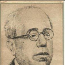 Arte: 1936 ORIGINAL RETRATO PERSONAL PIEZA DE MANUEL AZAÑA REPUBLICA ESPAÑOLA GUERRA CIVIL. Lote 21603328