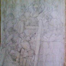 Arte: ASALTO A UNA FORTALEZA S.XVII-XVIII. Lote 26620032