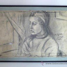 Arte: ESTUDIO A LAPICERO Y CARBON. Lote 27391212