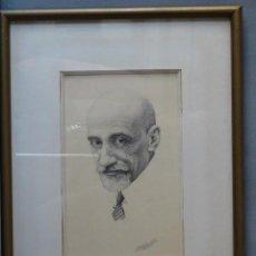 Arte: PRECIOSA PLUMILLA DE NICOMEDEZ GOMEZ (CARTAGENA 1903 - 1983). Lote 24430874
