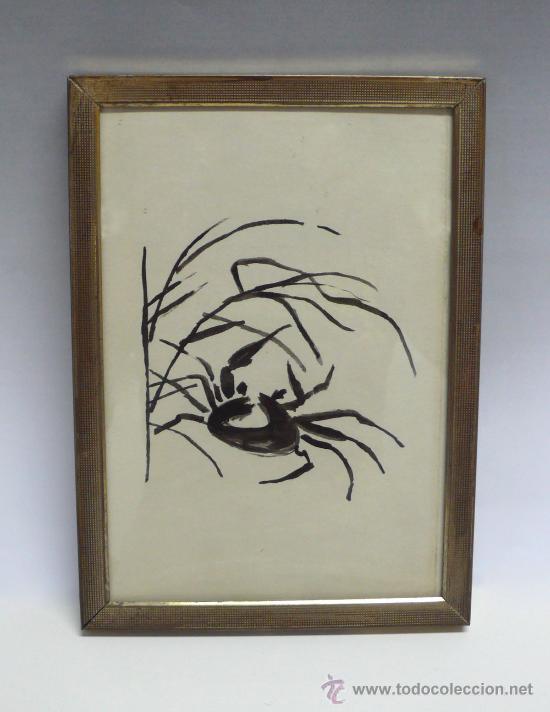 DIBUJO ORIGINAL EN TINTA CHINA (Arte - Dibujos - Contemporáneos siglo XX)