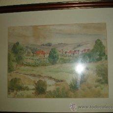 Arte: AROITZ BURGUETE 1941. Lote 26424261