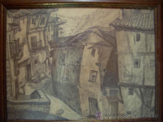 VICENTE PARICIO PINTOR ZARAGOZANO (Arte - Dibujos - Contemporáneos siglo XX)