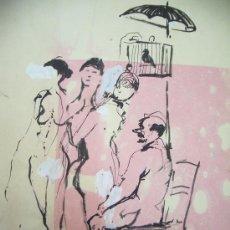 Arte: PRIM PINTOR CATALAN, DIBUJO.2 DIBUJOS. Lote 26921103