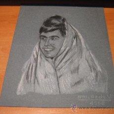 Arte: DIBUJO FIRMADO GMOLLEDA V 1960 VER FOTOS PEGADO POR LA MITAD. Lote 23128575