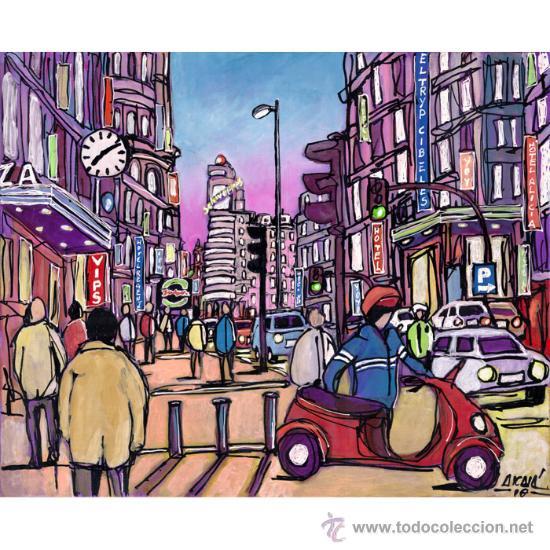 Cuadro original arte pop espa ol mural comprar dibujos - Cuadros pop art comic ...