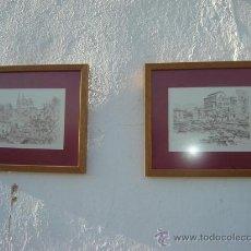 Arte: 2 DIBUJOS A LAPIZ. Lote 23426522