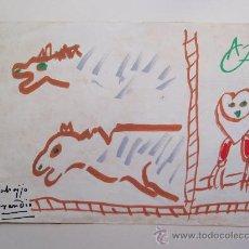 Arte: LABAJJO GRANDÍO - DIBUJO - 21 X 29 CM.. Lote 27025974