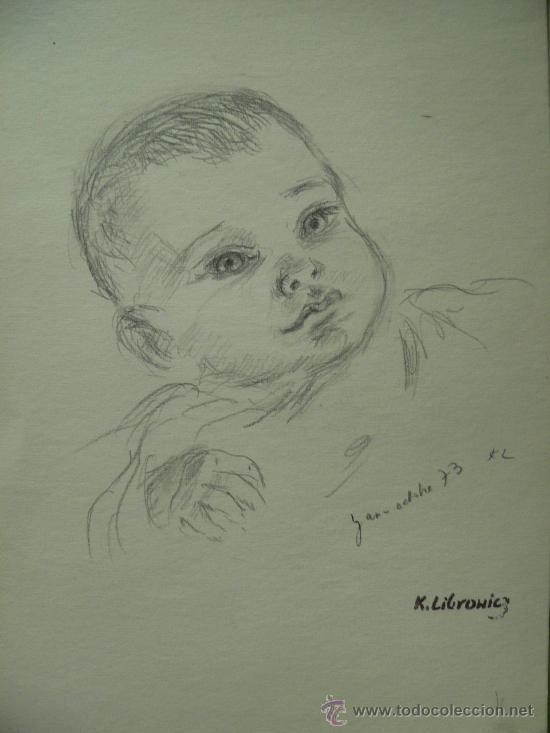 precioso dibujo a lapiz de katherine librowicz  Comprar Dibujos