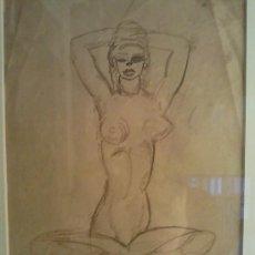 Arte: TINTA SOBRE PAPEL DE CELSO LAGAR. Lote 26439623