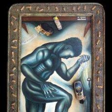 Arte: ESCLAVOS DE LA CRISIS - JUAN IZQUIERDO. Lote 26791710