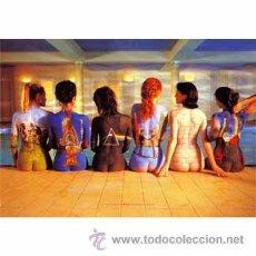 Arte: PINK FLOYD: TATU ART. CUADRO EN MADERA DE 85 X 55 CM. Lote 29612807
