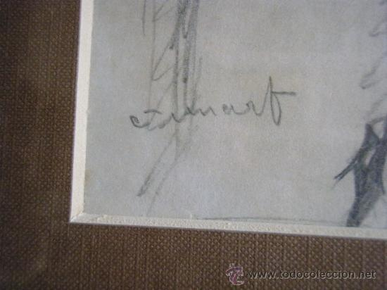 Arte: DIBUJO A LAPIZ DE FRANCISCO GUINART CANDELICH - Foto 4 - 27654039