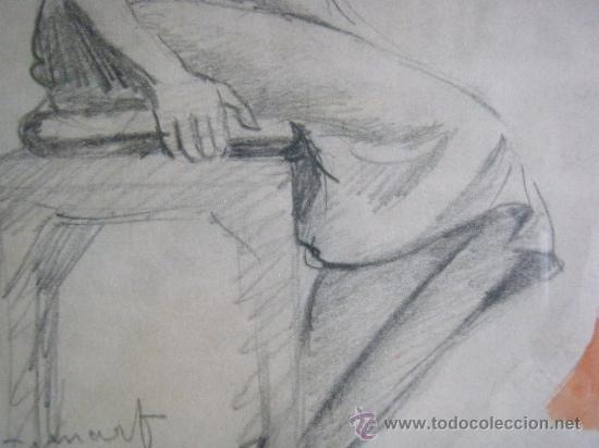 Arte: DIBUJO A LAPIZ DE FRANCISCO GUINART CANDELICH - Foto 2 - 27654039