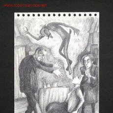 Arte: SIRO PINTOR GALLEGO DIBUJO A LAPIZ. Lote 26897442