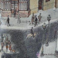Arte: COLLAGE Y PINTURA INGLESA DE BELLA FACTURA. Lote 27787759