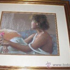Arte: CUADRO DE SOLÉ , CON MARCO 35 X 40. Lote 27924985