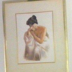 Arte: PASTEL DE DOMINGO ALVAREZ GOMEZ , BARCELONA 1942. Lote 28255556