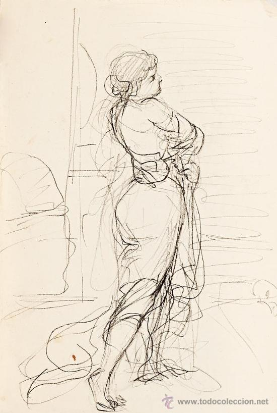 MARTÍ ALSINA RAMON (Arte - Dibujos - Contemporáneos siglo XX)