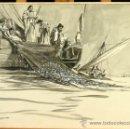 Arte: FRANS GAILLIARD (BÉLGICA, 1861-1932) - LA PESCA MILAGROSA. Lote 28359354