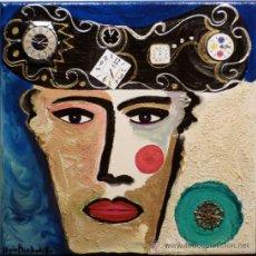Arte: PINTURA MIXTA Y COLLAGE DE LLUIS BARBADILLO. Lote 28548558