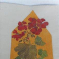 Arte: PINTURA DE FLORES AÑO 1929. Lote 28822919