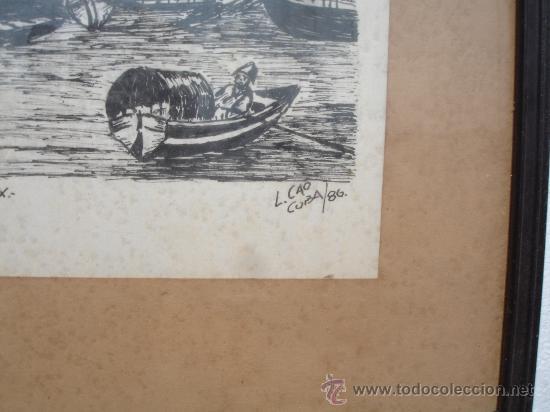 Arte: MUELLE BAHIA SIGLO XIX HABANA CUBA (L.CAO) - Foto 2 - 28961668