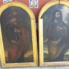 Arte: PAREJA DE TABLAS DEL SIGLO XVIII. Lote 28969041